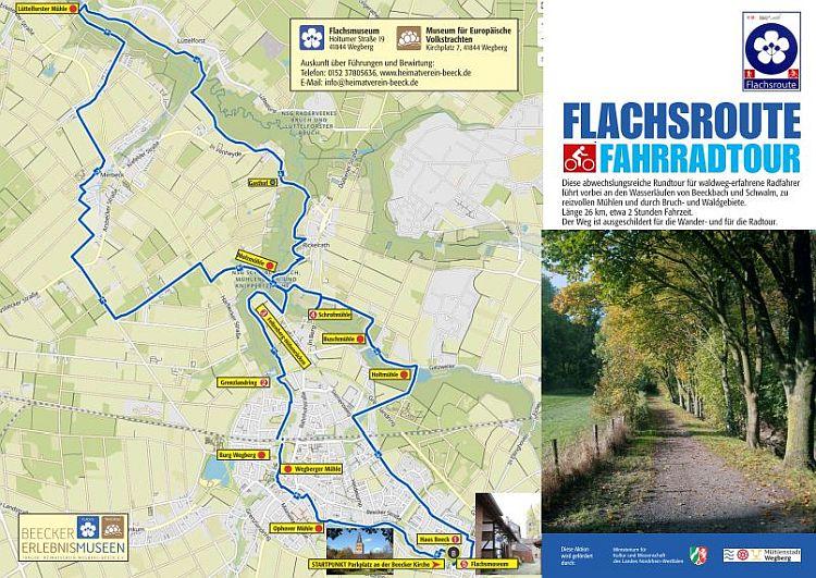 Flachsroute-Fahrradtour-Beecker-Erlebnismuseen-2021-Wegberg-Beeck-NRW-Vorderseite