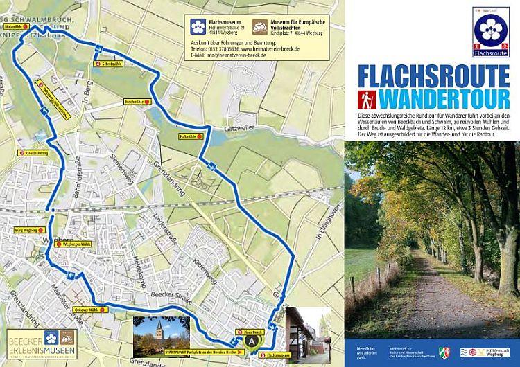 Flachsroute-Wandertour-Beecker-Erlebnismuseen-2021-Wegberg-Beeck-NRW-Vorderseite