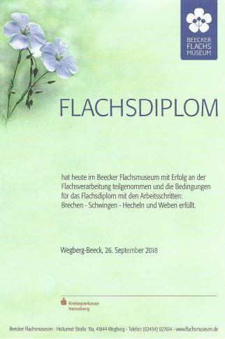 flachsdiplom-beecker-erlebnismuseen-urkunde